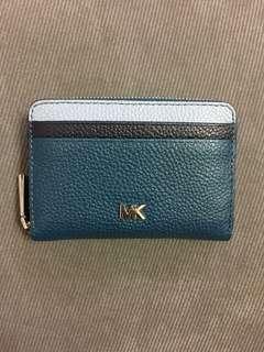 Michael Kors Pebbled Leather Wallet 100% Real & New 全新真皮銀包