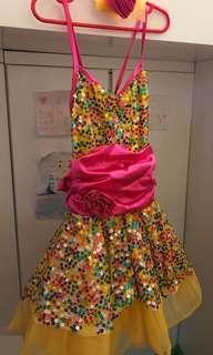 女童公主裙跳舞裙表演裙