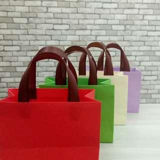 Mini Paper Bag Campur Warna