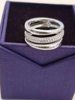 Swarovski Authentic Ring size 6-6.5 - original box included