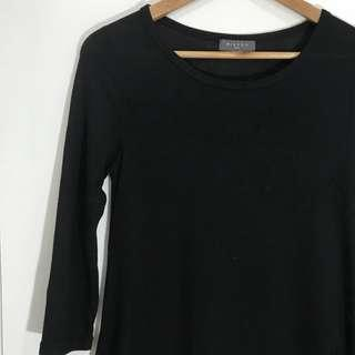 Mirrou Black Sleeved Dress