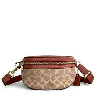 Coach Signature Belt Bag NEW