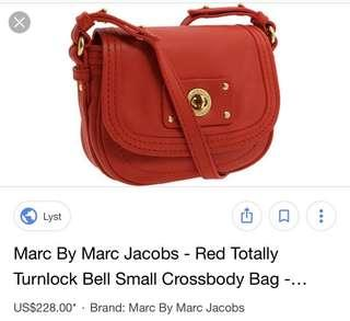 Marc by Marc Jacobs totally turnlock Bell crossbody