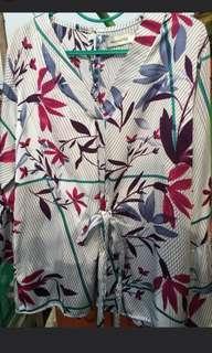 Mayoutfit blouse flower bunga