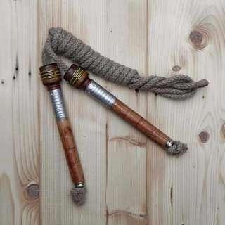 英國 Merchant & Mills 古董線軸跳繩