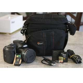 Nikon Coolpix B700 60X Optical Zoom 4k Bridge SLR Camera