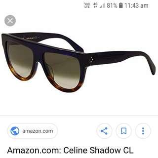Celine cl shadow sunglasses