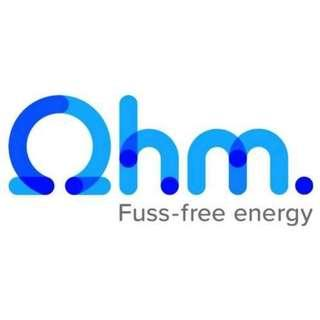Get $20 Off OHM Energy sign up, Referral Code OHMREFB5AC18