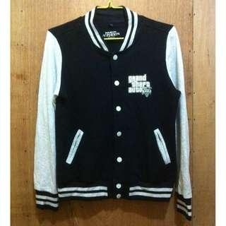 AGITATION GTA 5 VARSITY JACKET - LARGE