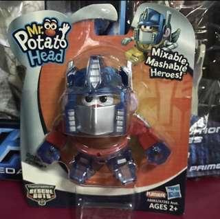 Mr Potato Head Transformers Optimus Prime