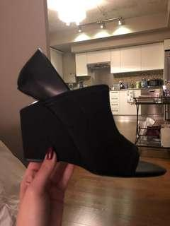 Alexander Wang wedges worn once - size 38
