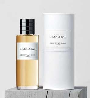 全新連盒•Dior Maison Christian Dior Grand Bal 125ml