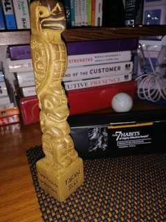 The Talking Stick Totem Statue - The 7 Habits of Highly Effective People