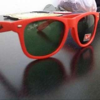 orange funky shades