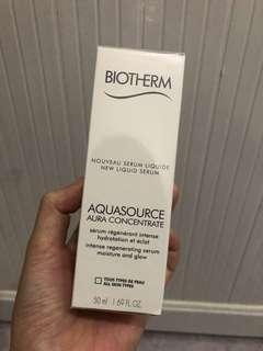 biotherm aqua concentrate new liquid serum