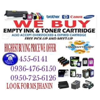 ACCREDITED BUYER OF EMPTY INK CARTRIDGES AND TONER
