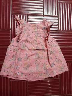 Blouse mothercare size 18-24 bln