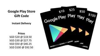 🚚 CHEAPEST GOOGLE PLAY STORE GIFT CARD IMMEDIATE DELIVERY