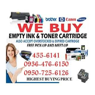 Brand new Expired BUYER OF EMPTY INK CARTRIDGES AND TONER