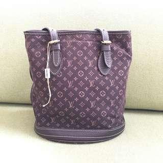 Original LV minillin bucket bag