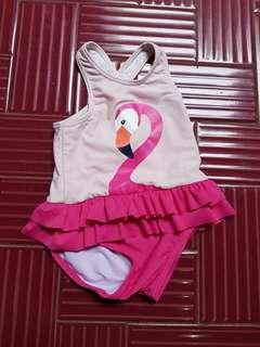 Swimsuit flamingo