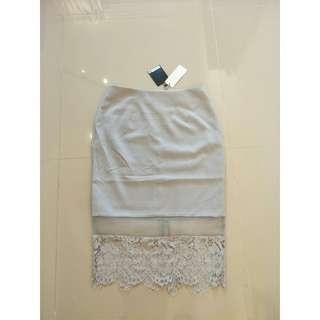 BNWT Doublewoot Grey Skirt #JAN50 #CNYGA