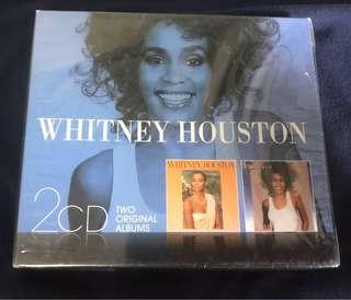 WHITNEY HOUSTON - TWO ORIGINAL ALBUMS LIMITED BOX SETS (BRAND NEW)