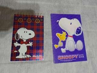🚚 Snoopy note book*2 ★自行出價★