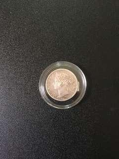 Old coin 20 cents