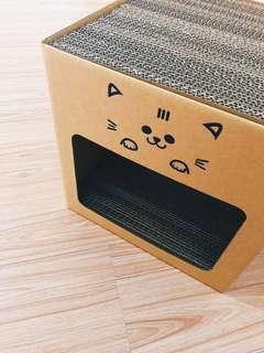🚚 <日日DXD>全新現貨· MIT寵物夢工廠耐抓貓屋 貓抓屋 內含4片貓抓板