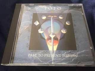 (RESERVED)TOTO PAST TO PRESENT 1977 - 1990 CD