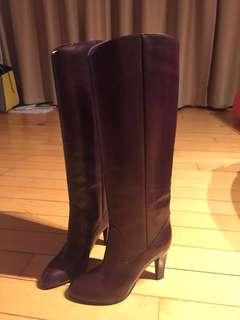 Sergio Rossi knee length boots 36.5