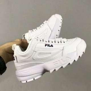 FILA DISRUPTORS (All sizes available )