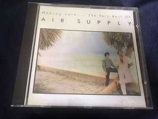 The Very Best Of AIR SUPPLY CD ( Printed in W.Germany)