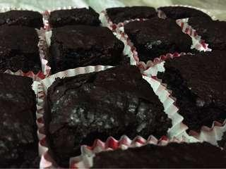 Molten Chocolate Brownies