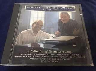 RICHARD CLAYDERMAN & JAMES LAST CD