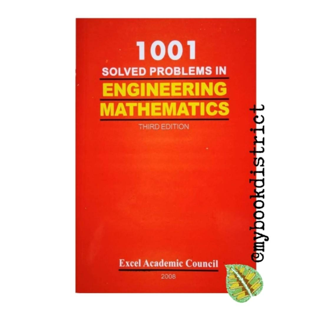 1001 Solved Problems in Engineering Mathematics by Excel on