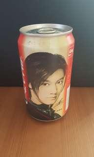 Coke can collectables. Nicholas Tse