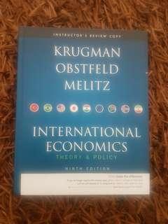 International Economics Theory and Policy Ninth Edition