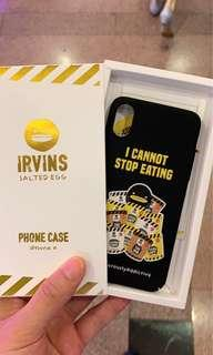 iPhone X XS IRVINS Case 全新