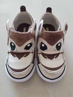 Almost new converse infant toddler monkey sneakers