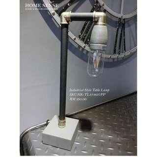 TABLE LAMP / INDUSTRIAL STYLE