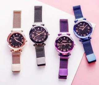 🚚 Instock unisex galaxy magnetic strap watches,