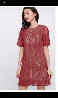 Love Bonito CNY Red Dress