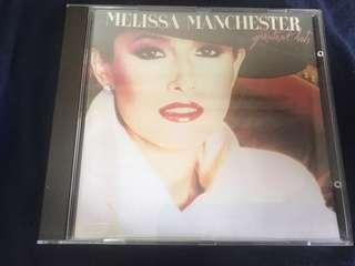 MELISSA MANCHESTER GREATEST HITS CD