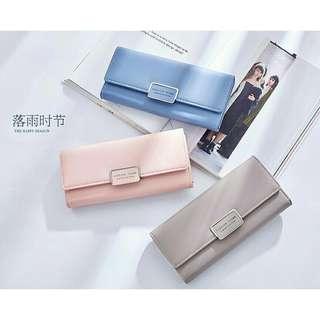 Long Pastel Wallet