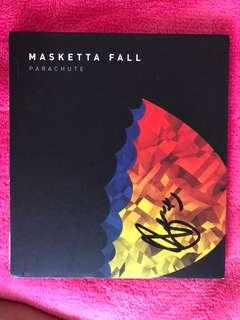 SIGNED Masketta Falls Parachute CD