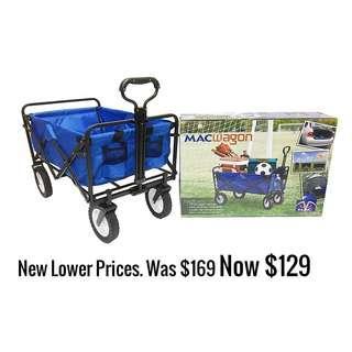 Blue Mac Sports Wagon Foldable Wagon