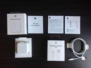 12 watts Apple Adapter with Lightning Cable