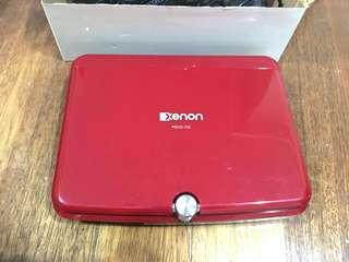 """Xenon Portable DVD Player 7"""" Wide Screen"""